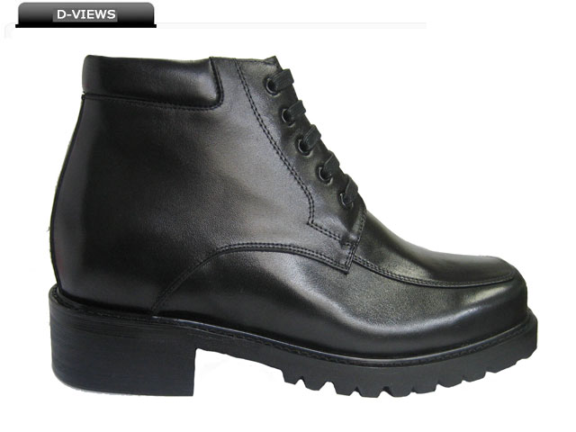 Height Increase Boots Zipper