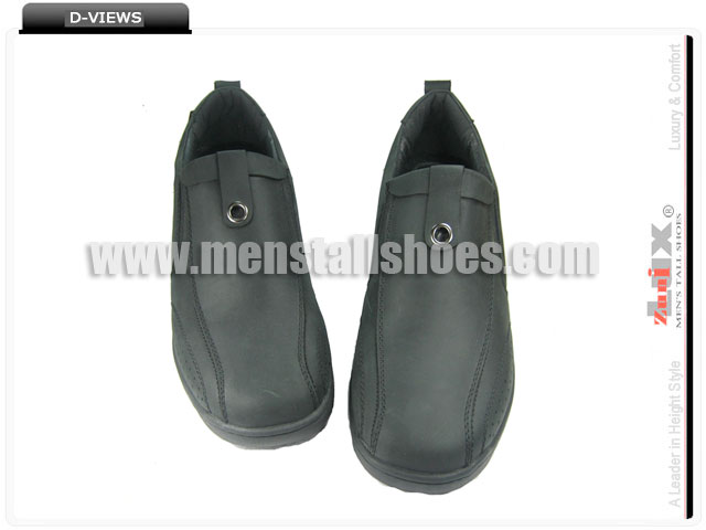 High heel loafer shoes