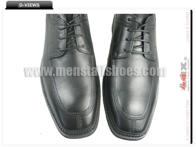 Men boost dress shoes