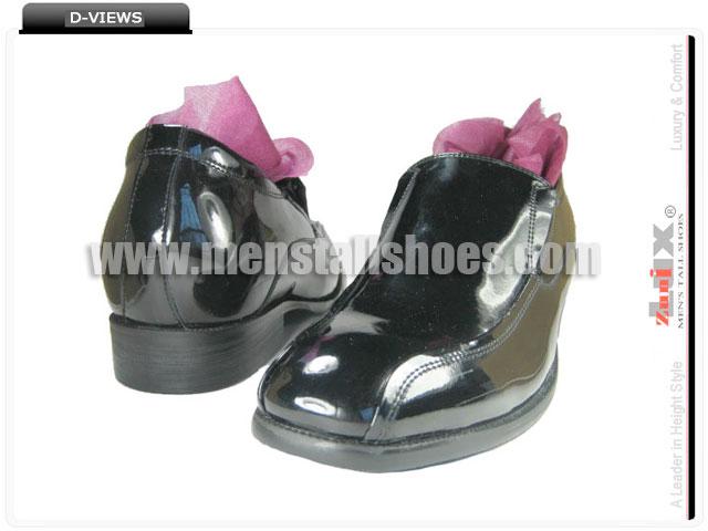 Height increasing tuxedo shoes