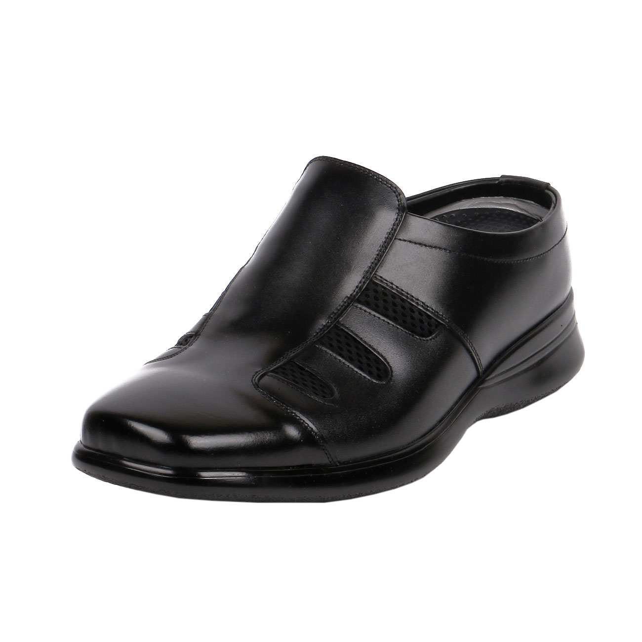 KL5112, Men's Comfy Office Elevator Slipper Business & House for suit to Make Taller 3