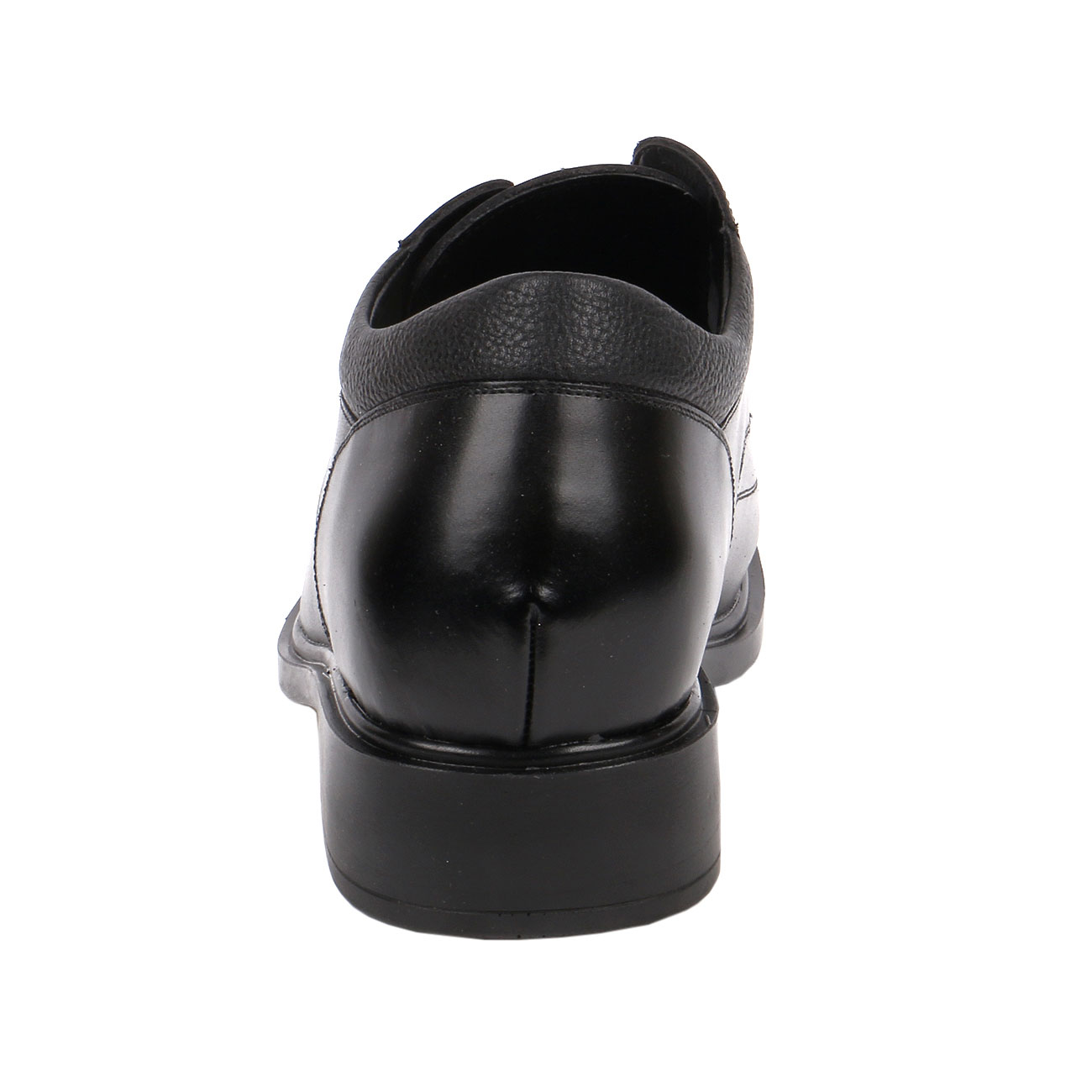 KL600, Men Black Dress Square Shoe Height lighting You for Success to the Job Interview-3