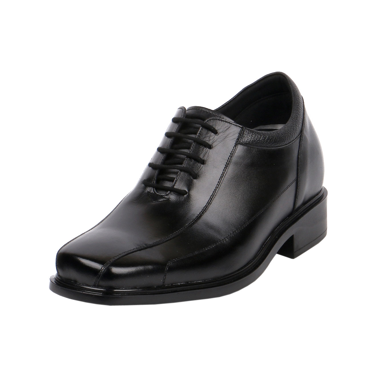 KL603, Comfortable Lightweight Semi Dress Wide Shoe with more Informal Sports Outfits with Unique Bicycle Toe Design, 3 Inch Tall-1
