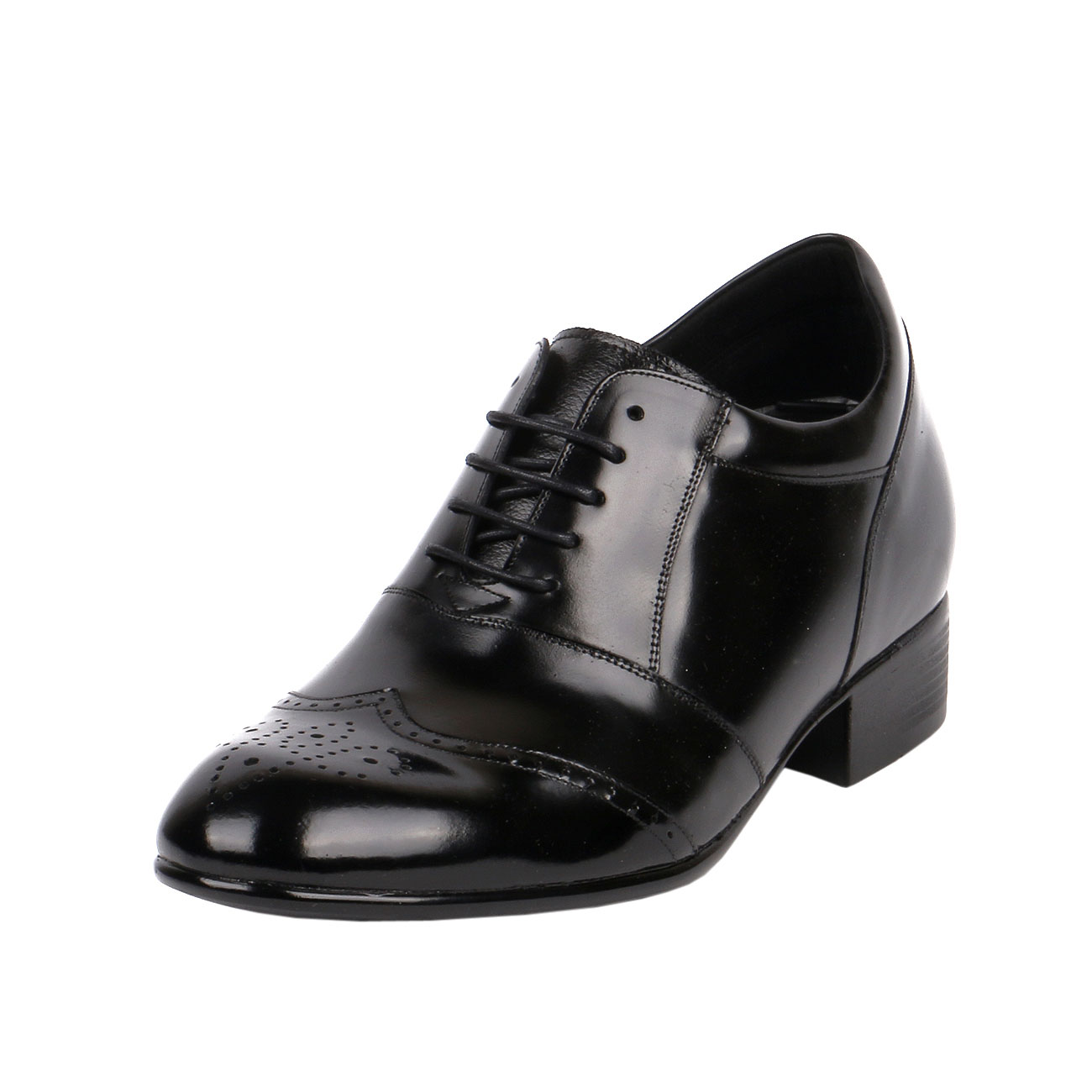 KL609, Semi Glossy Wide Width Formal Dress Shoes Light Weight  to Make 3