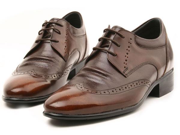 Seniors Comfort Heel Shoes Adding Extra Height 2.4