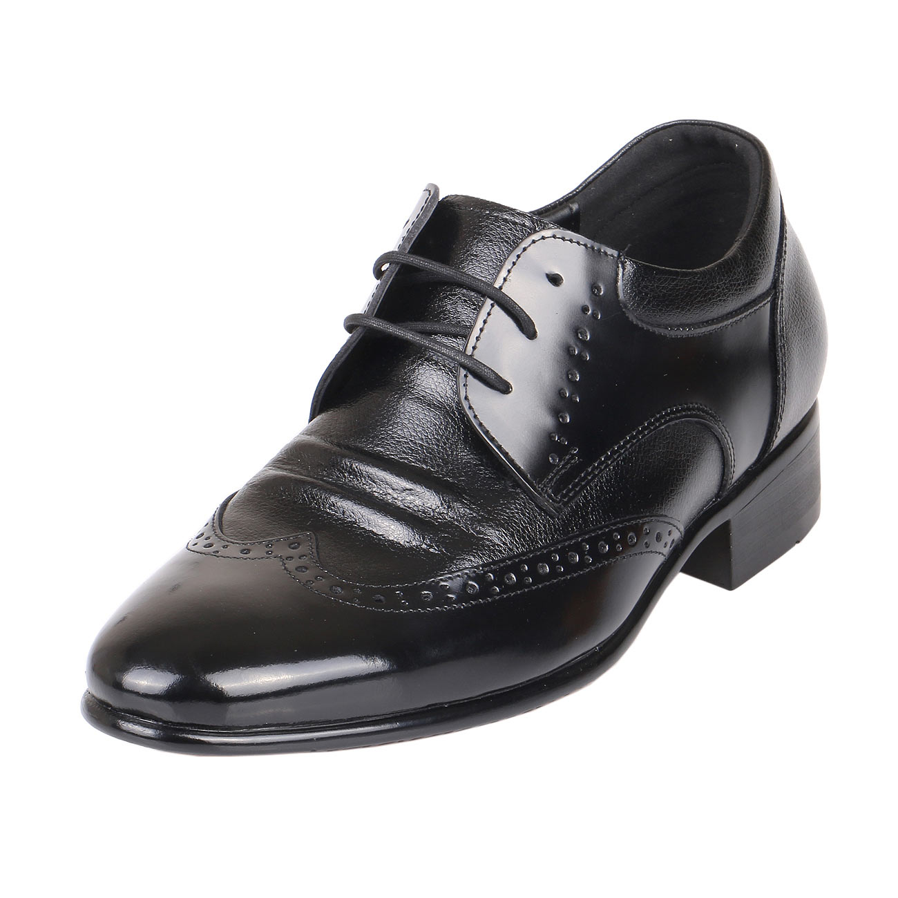 Men's High Increasing Heels 2.4 Tall, KL636BL
