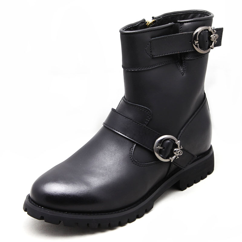 Men High Heel Boots-1
