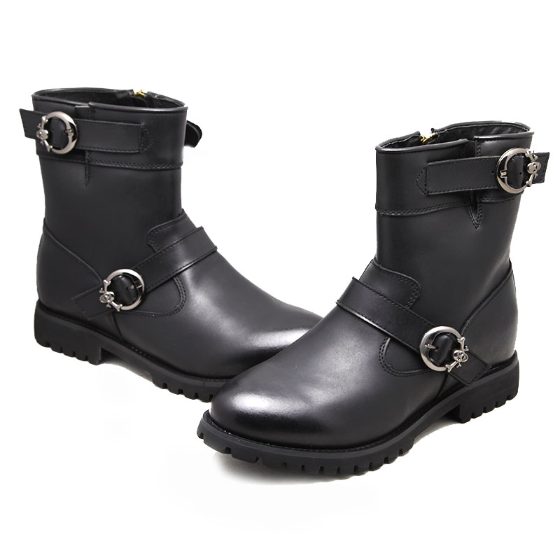 Men High Heel Boots-5
