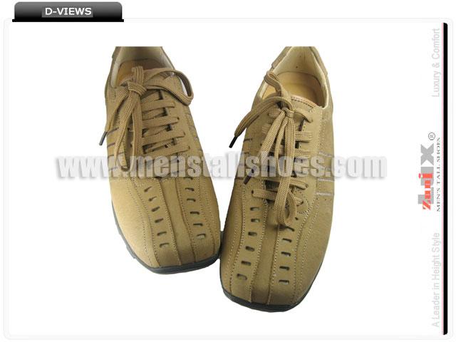 Grow taller shoes