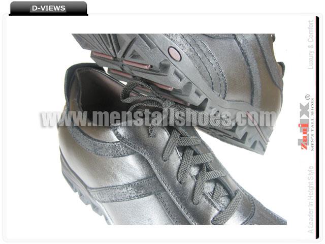 Casual hidden shoe lifts