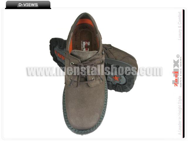 Heighten taller shoes