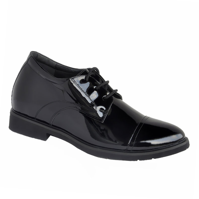 police uniform shoes-1