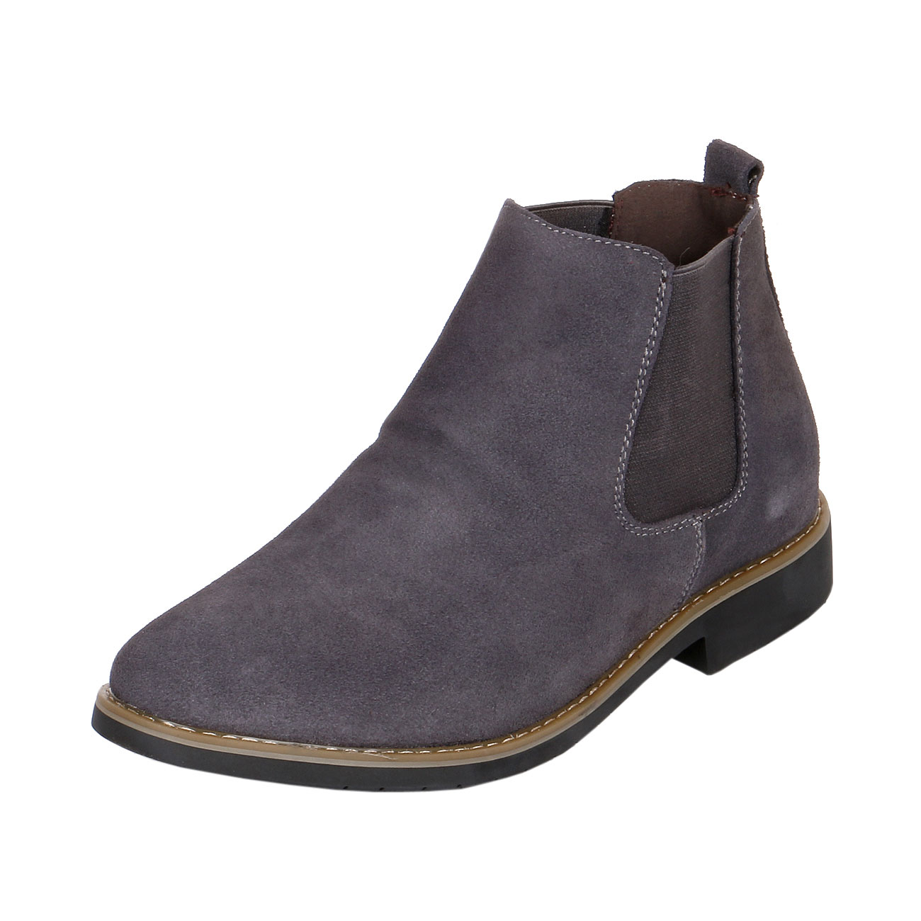 Height Elevator Boots Suede Chelsea Style-view1