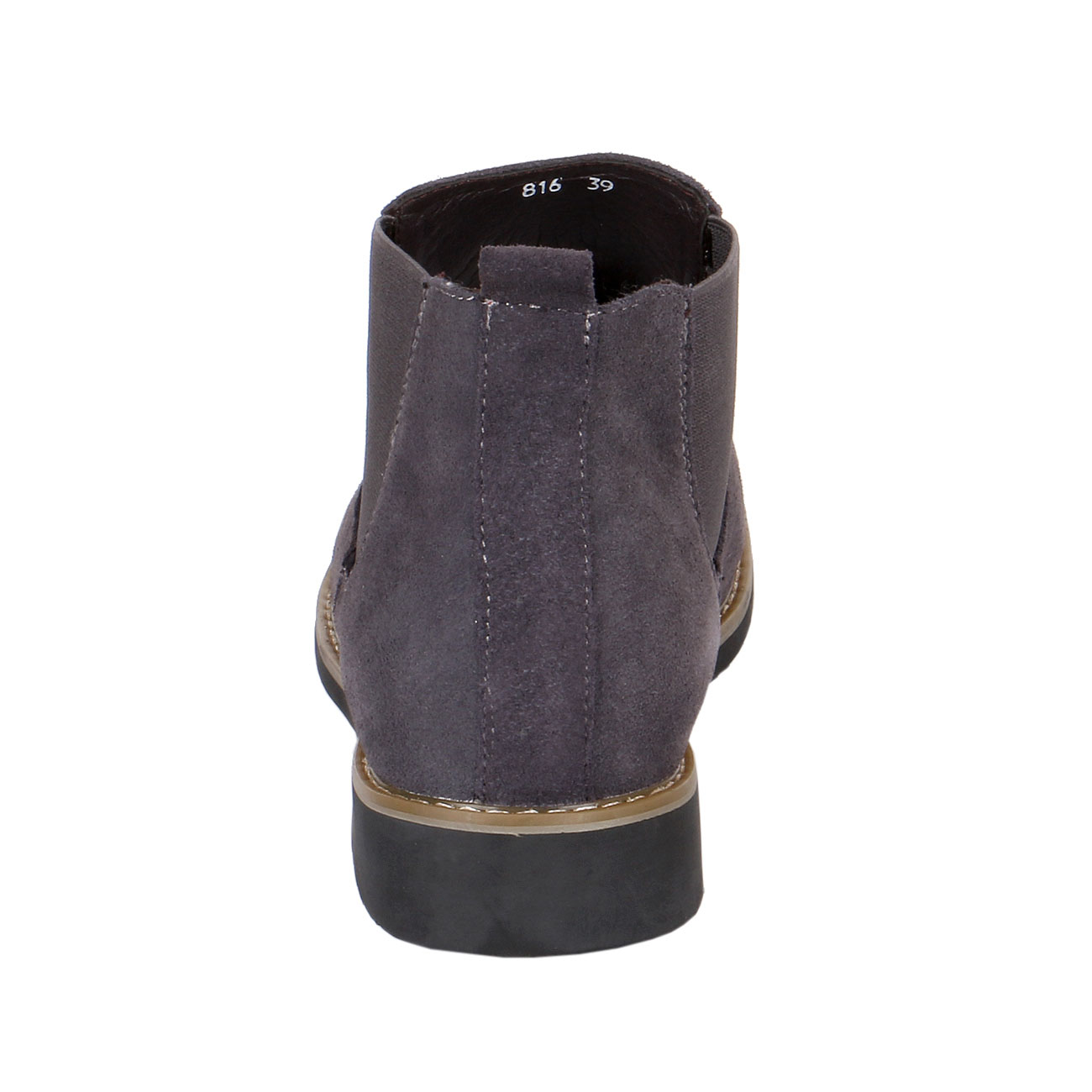 Height Elevator Boots Suede Chelsea Style-view3