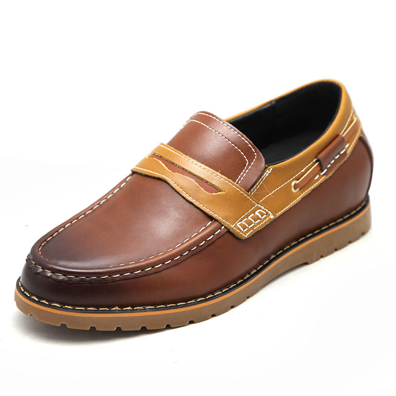 Elevator boat shoes for height-view1