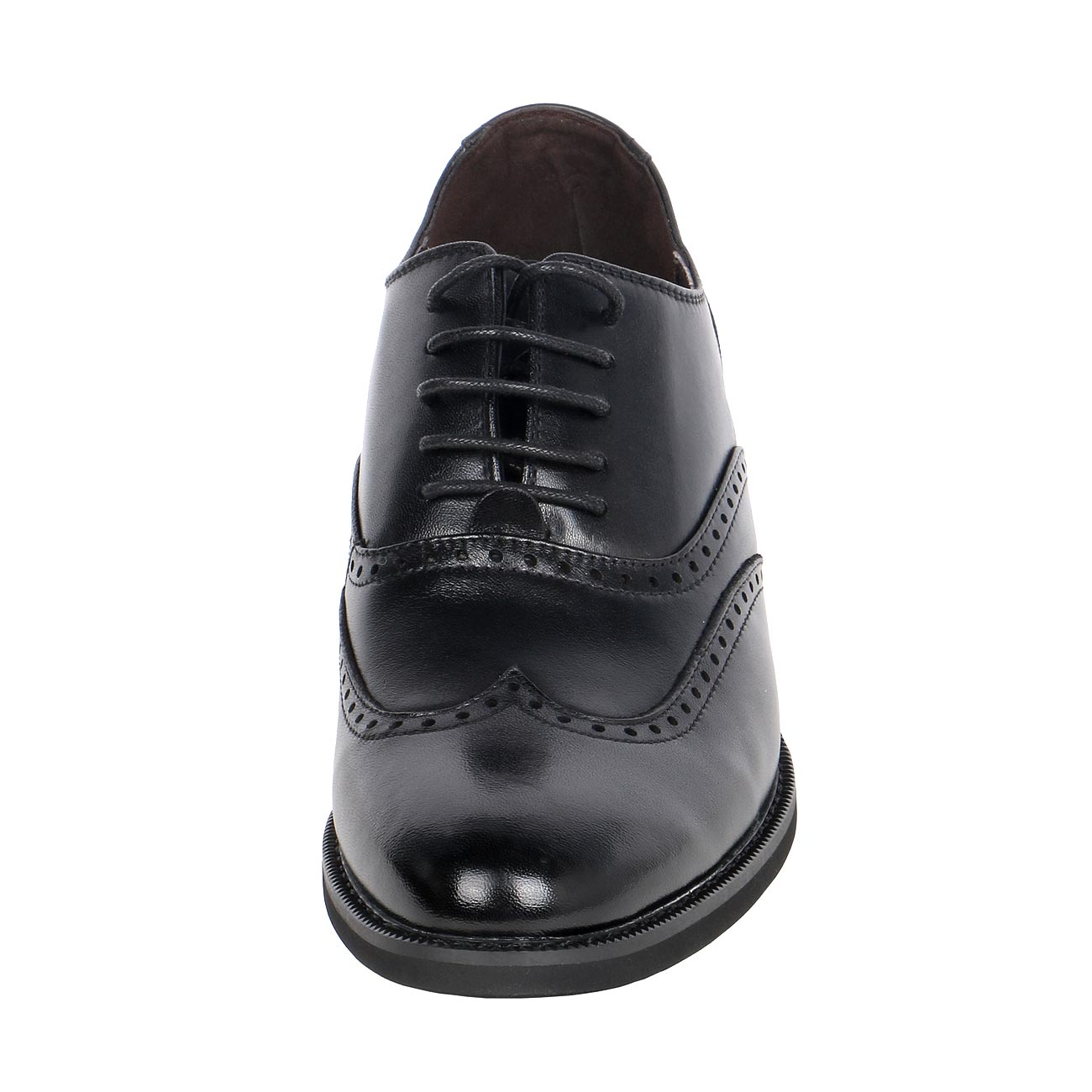 Royal Wing Tip Classic Broguing Stylish Gentlemen Shoe Height Tall
