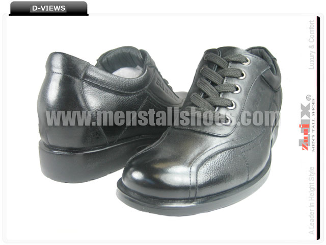 Mens raised high shoes