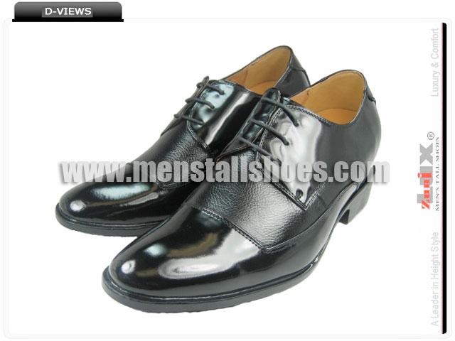 Tuxedo with taller heels