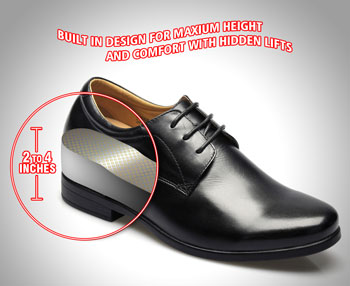 Uniform Shoes - Uniform Shoes for Height - High Heel Officer Shoes