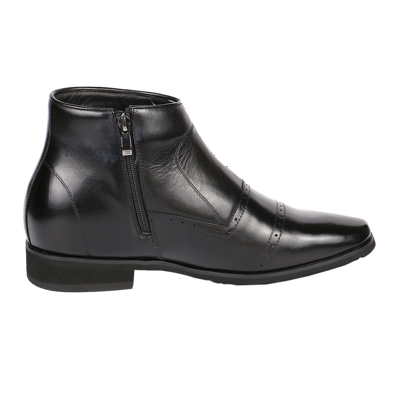 Jota Midtown Cap Toe Zip Boot 2.8