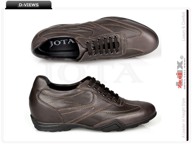 Shoes with built in height-2