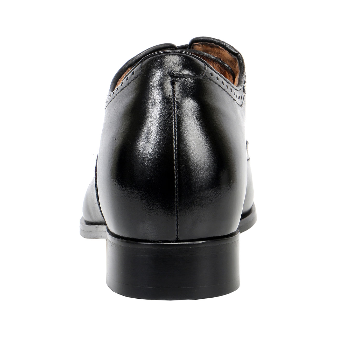 Leather sole height shoes-1